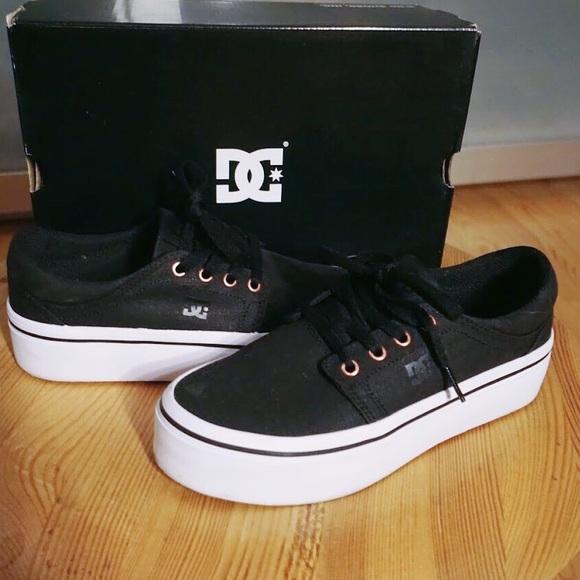 31ef836275 DC Shoes - 🖤 DC Trase Platform TX SE Shoes 🖤